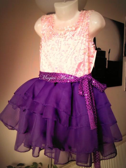 Replica Vestido Violetta de Disney ( diseño limitado) | Mágico Mundo